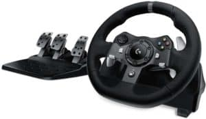 Logitech G920 Staring wheel with Padels